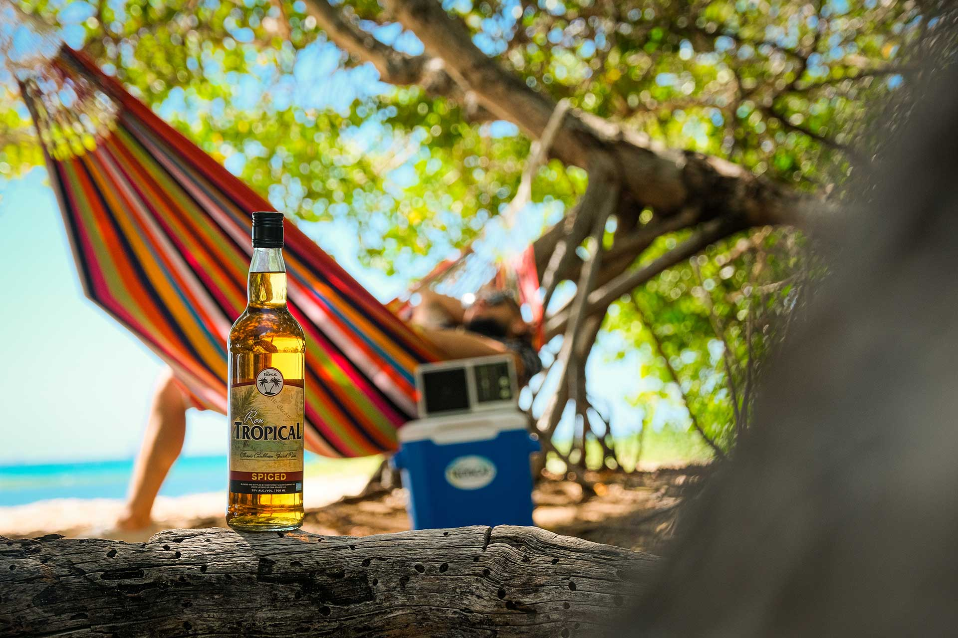 Ron tropical Aruba